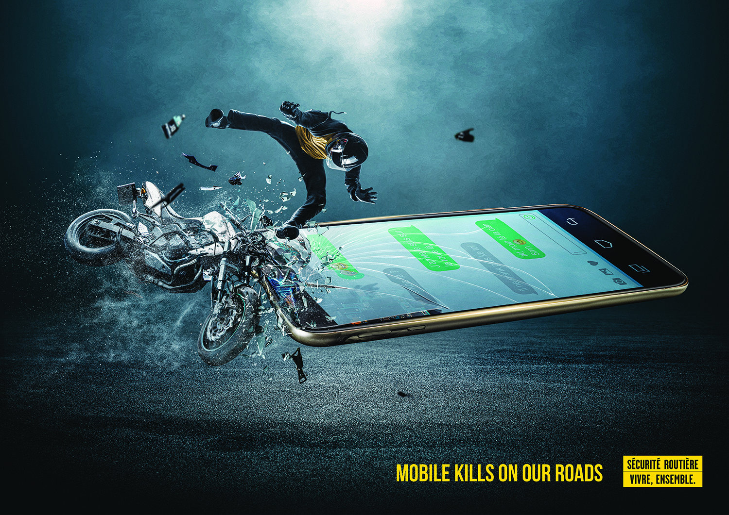 Mobile kills on our roads